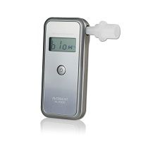 ACE AL7000 Breathalyzer with replaceable Sensor + 25 Mouthpieces & Calibration Voucher