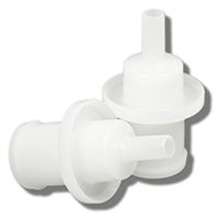 Mouthpieces (D-Type) for Dräger 7410 & EnviteC AlcoQuant 6020 (25 pcs)