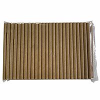 Paper straws suitable for stationary alcohol tester ACE Agent (VE = 100 pcs./9,85 cm long)