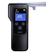 ACE Y Breathalyzer with fuel cell sensor + 25 Mouthpieces & Calibration Voucher