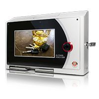 Stationary Alcohol Tester ACE Vision small, w/ Advertising Display, for Bars, Clubs, Hotels etc.